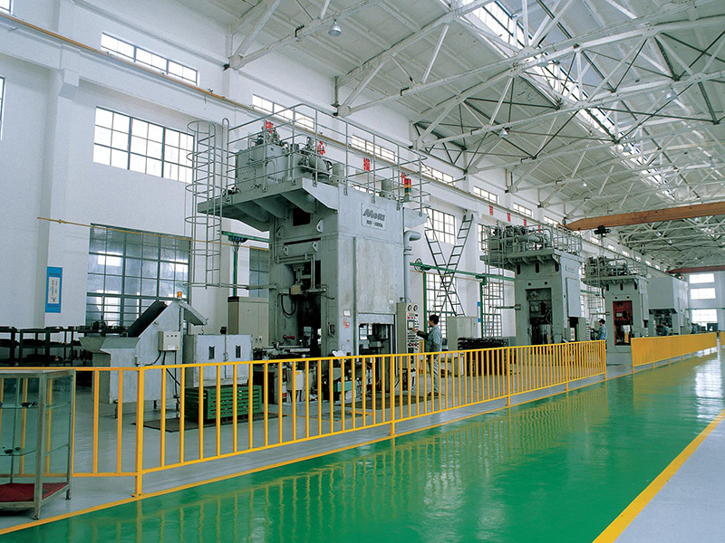 Cold precision forging production line