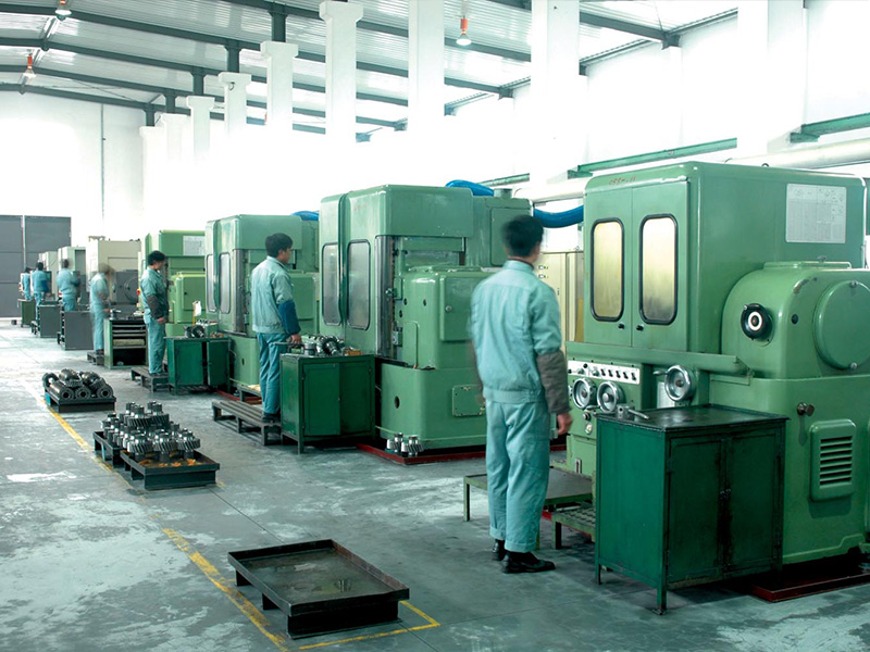 Swiss cylindrical gear grinding machine
