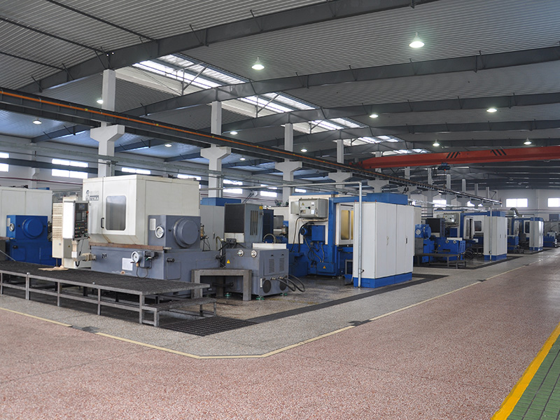 Production line of cylindrical gear machine